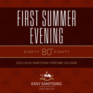 first summer evening sanitising cologne
