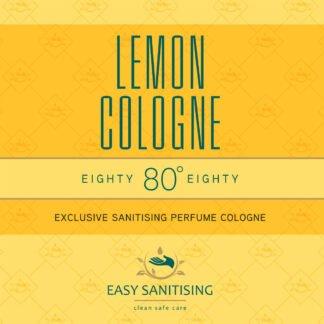 lemon sanitising cologne