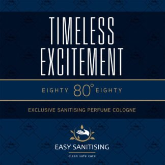 timeless excitement sanitising cologne