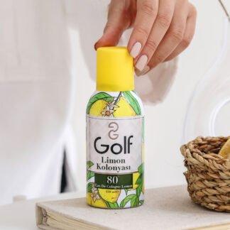 golf lemon sanitising spray 150ml